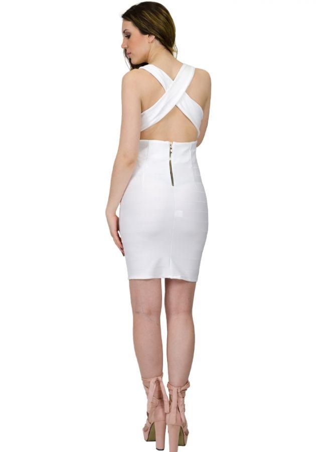 06bf7dd5aaf6 Φόρεμα στενό mini λαστιχοτό. Το φόρεμα είναι ελαστικό