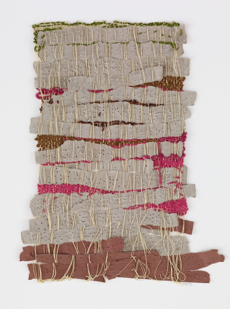 """// Sheila Hicks, """"Punched Notations,"""" 2012. Courtesy of the Andrea and José Olympio Pereira Collection."""