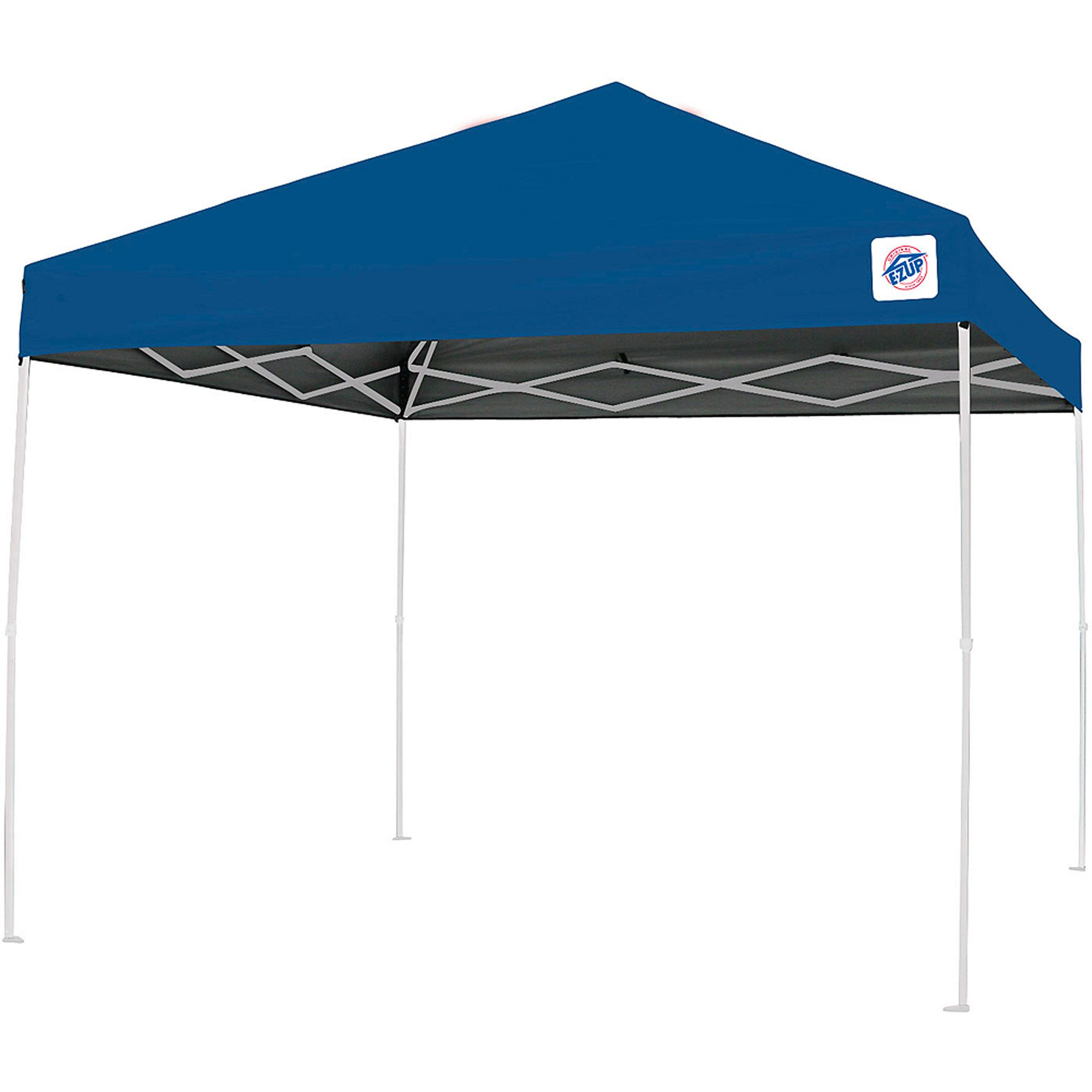 Ozark Trail 10x10 Slant Leg Instant Canopy Gazebo Shelter 100 Sq Ft Coverage Walmart Com In 2020 Instant Canopy Canopy Tent Outdoor Patio Decor
