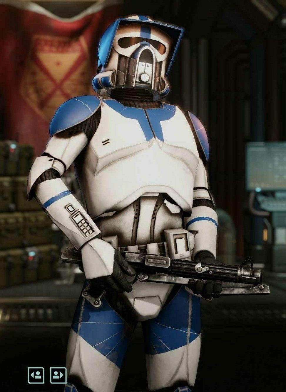Arf Sargeant Cs 2207 Booomer In 2020 Star Wars Clone Wars Star Wars Pc Star Wars Images