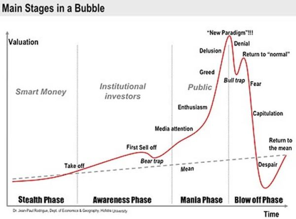 Nugt Quote Adorable Stages Of A Bubblekitty_Kitty  Stocks And Financial Investing