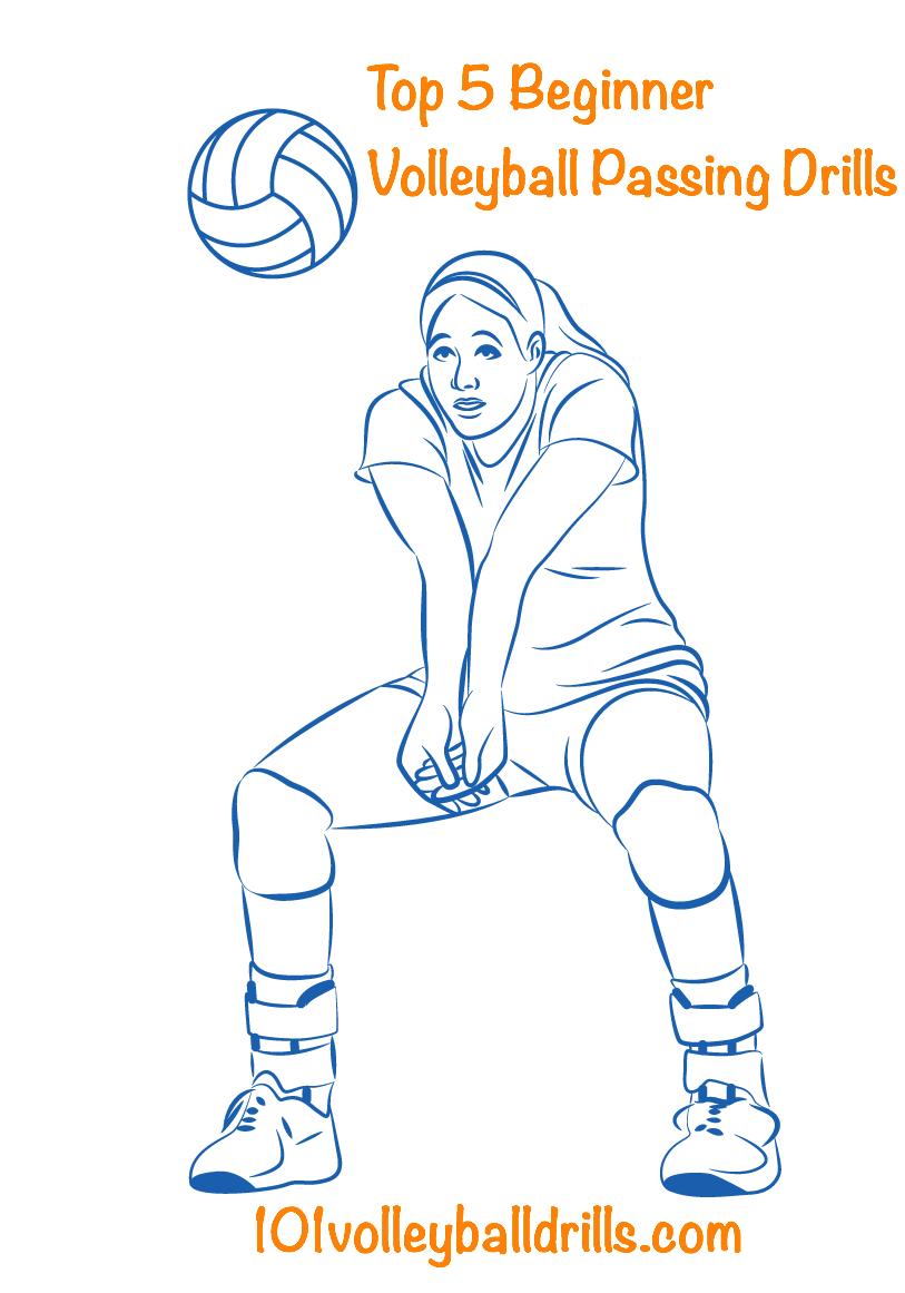These Beginner Volleyball Passing Drills Will Set The Foundation For Players To Become Effectiv With Images Volleyball Passing Drills Volleyball Workouts Volleyball Skills