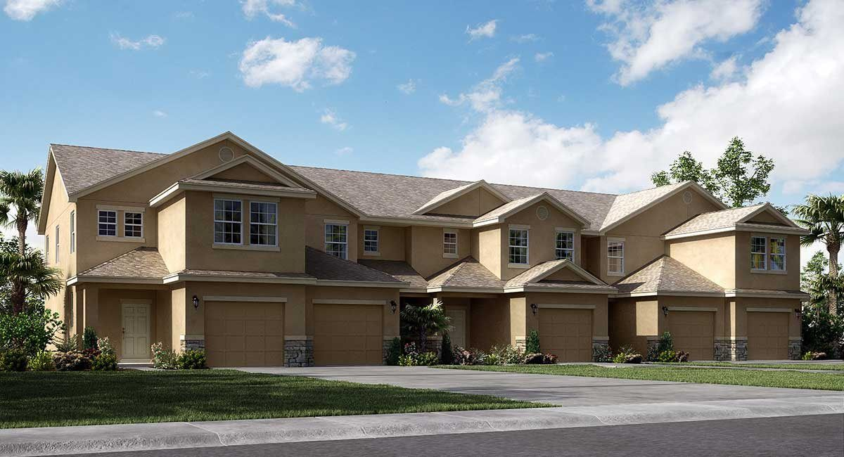 This Collection Of Multi Family Townhomes Is Located In