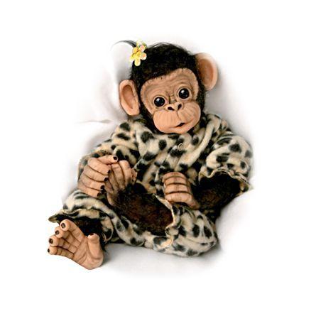 Die Kleine Ubu Schimpansenbaby Baby Puppen Und Affenbaby
