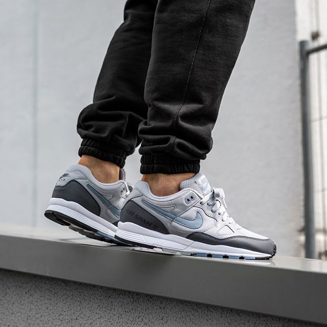 Nike Air Span II (Wolf Grey   Ashen Slate - Dark Grey)  b8d8a6581