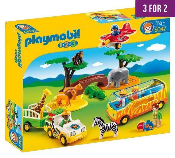 Playmobil 5047 1 2 3 Safari Set At Argos Co Uk Visit
