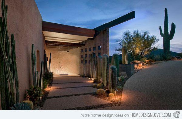 17 Parched Desert Landscaping Ideas Contemporary Landscape
