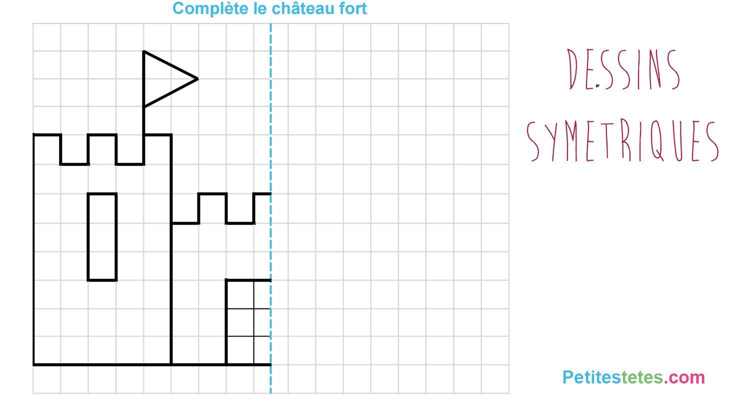 dessins sym triques pour enfants pour s 39 amuser en d couvrant la g om trie l 39 cole pinterest. Black Bedroom Furniture Sets. Home Design Ideas