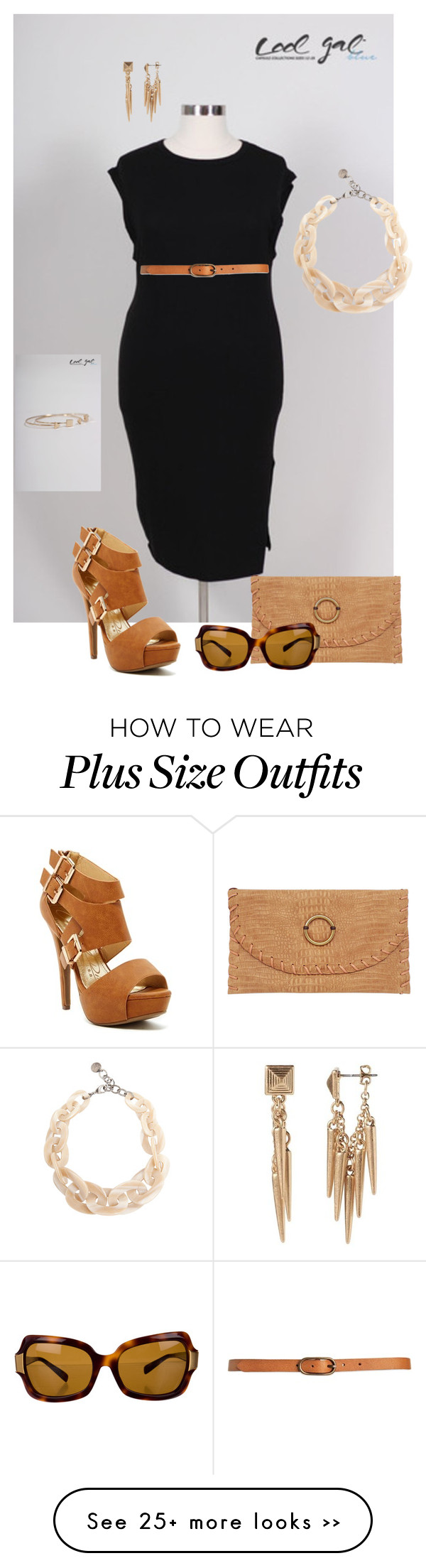 """""""@coolgalblue- plus size"""" by gchamama on Polyvore ..."""