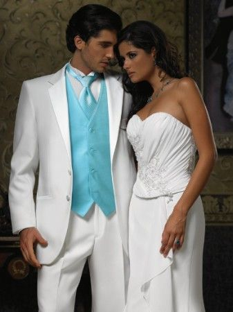 I\'m focusing on the guys tux for the groom, of course it is his ...