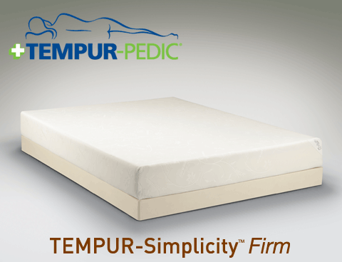 The Tempur Pedic Simplicity Collection Firm Mattress Tempurpedic Tempurpedic Mattress Mattress
