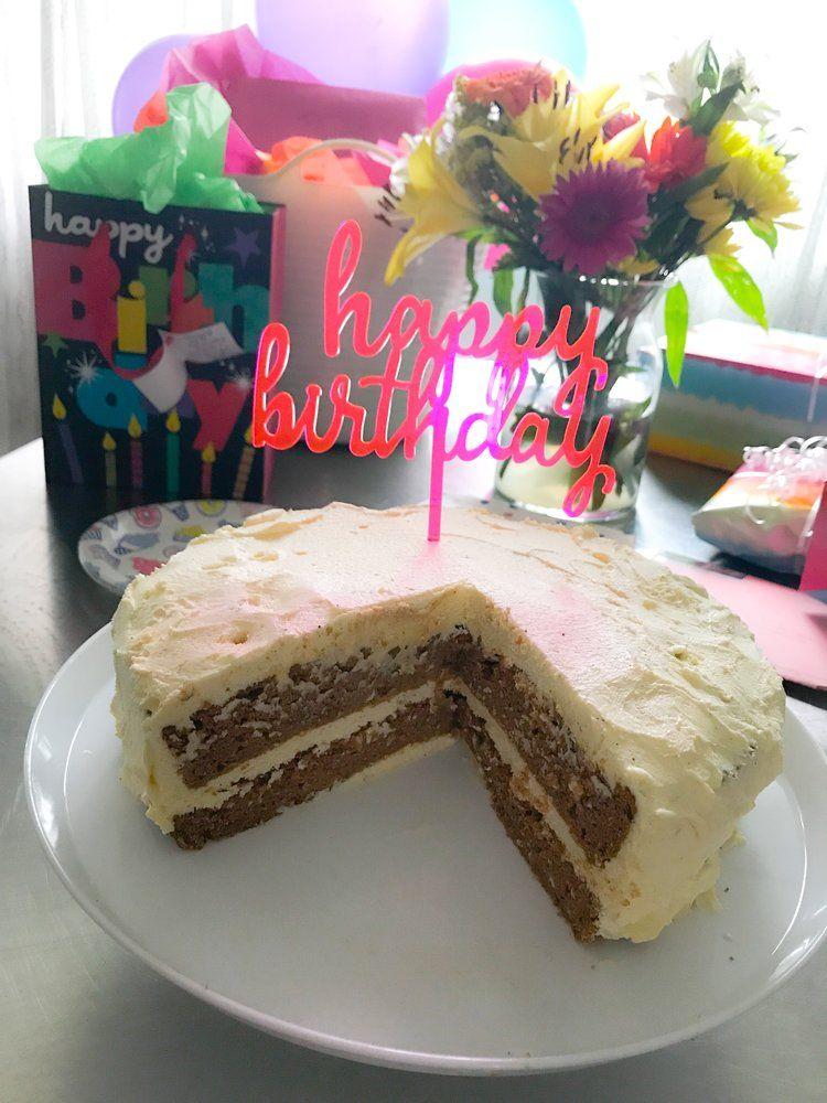 KETO RECIPE BIRTHDAY CAKE By Jen Fisch Via Keto In The City
