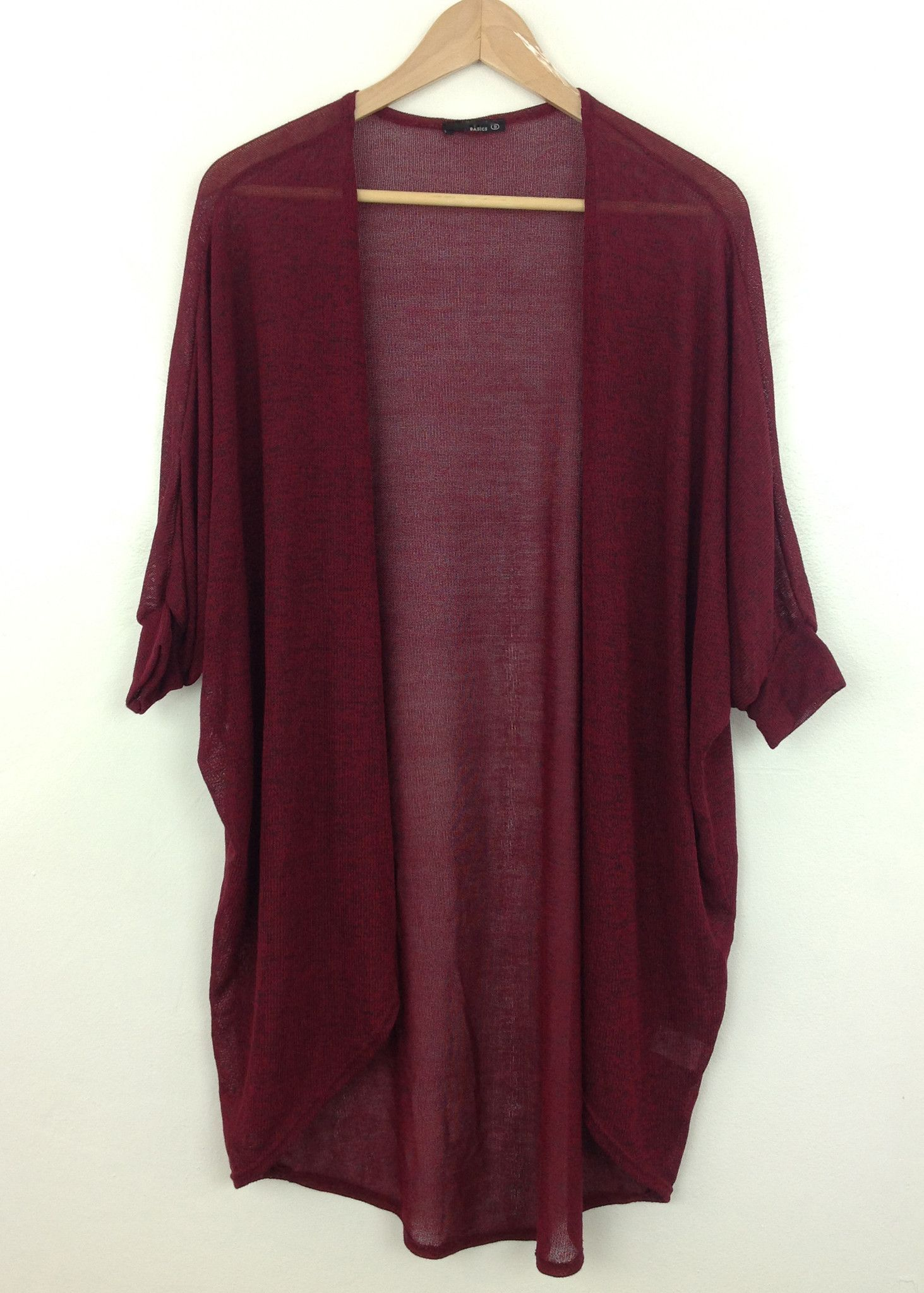 burgundy longline batwing cardigan | Wear can I get this ...