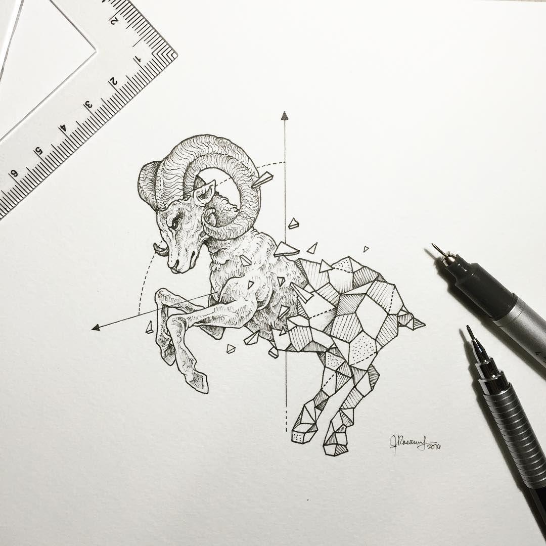 B lier dessin animaux pinterest tatouages animaux geometrique et dessin - Tatouage geometrique animaux ...