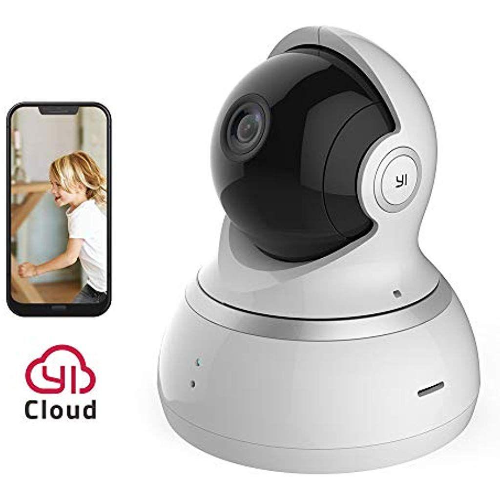 Yi Dome Kamera 1080p Uberwachungskamera Wifi Ip Kamera Smart Home Mit Nachtsicht Bewegungsalarm Auto Rotation 2 Wege Audio Haus Mit Bildern Ip Kamera Dome Kamera