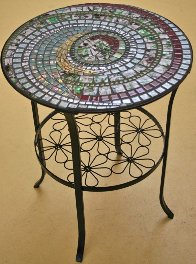 Tall Bistro Set With Mosaic Table For Sets Outdoor
