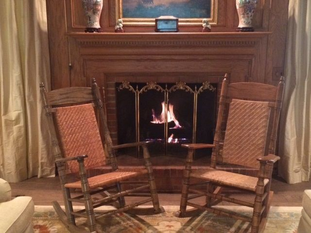 Living Room Design With Brumby Jumbo Rockers In Front Of The Fireplace Living Room Rocking Chairs Living Room Designs Rocking Chair