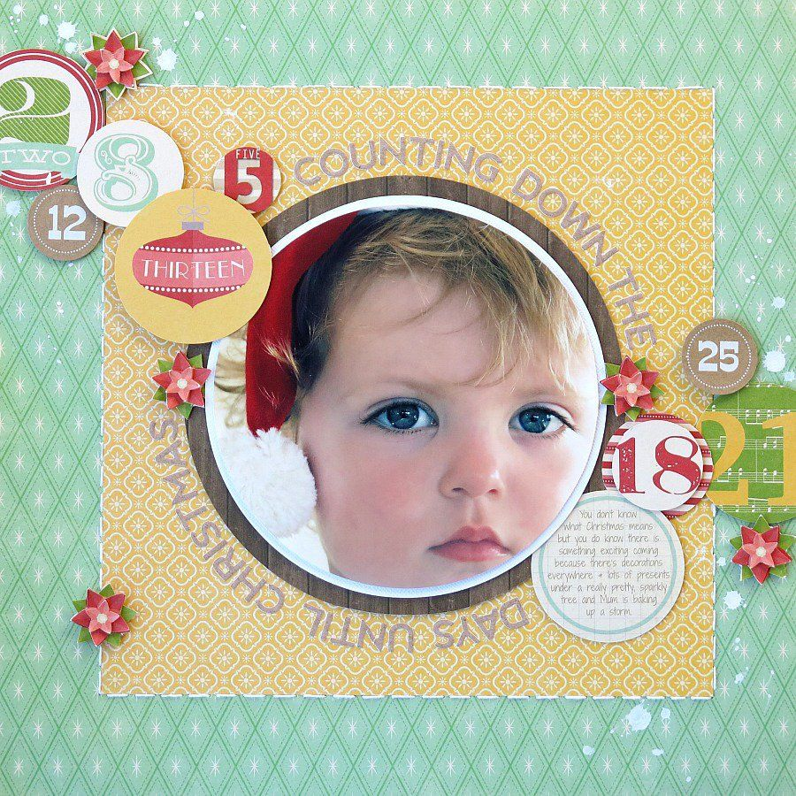 Counting Down the Days *Jillibean Soup - Scrapbook.com
