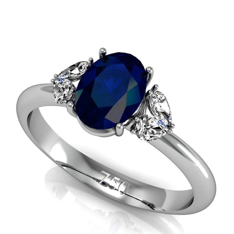 77841ee5693b5 anel de ouro branco com safira - Pesquisa Google