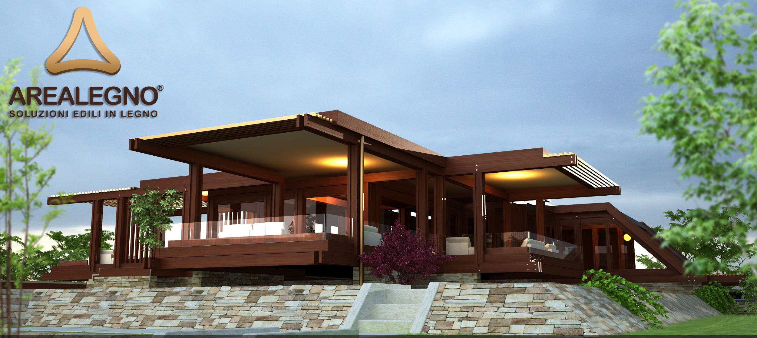 Benvenuto tra le case prefabbricate di lusso huf haus for Ville in legno di lusso prezzi