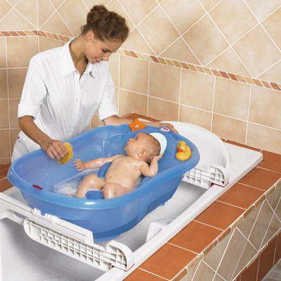 Baignoire Onda Evolution Barres De Fixation Bleu De Ok Baby