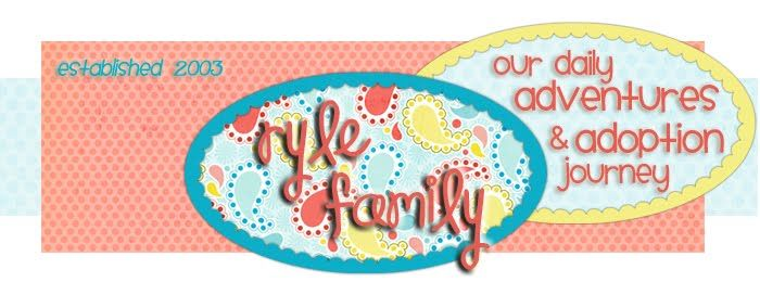 Ryle Family - Colombia Adoption Blog