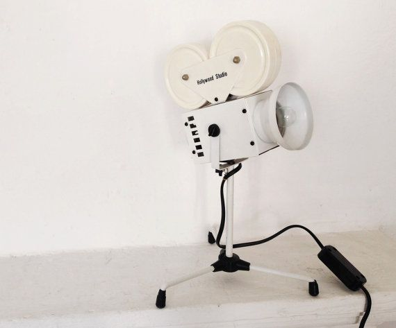 Movie Camera Desk Lamp - Hollywood Mega Store
