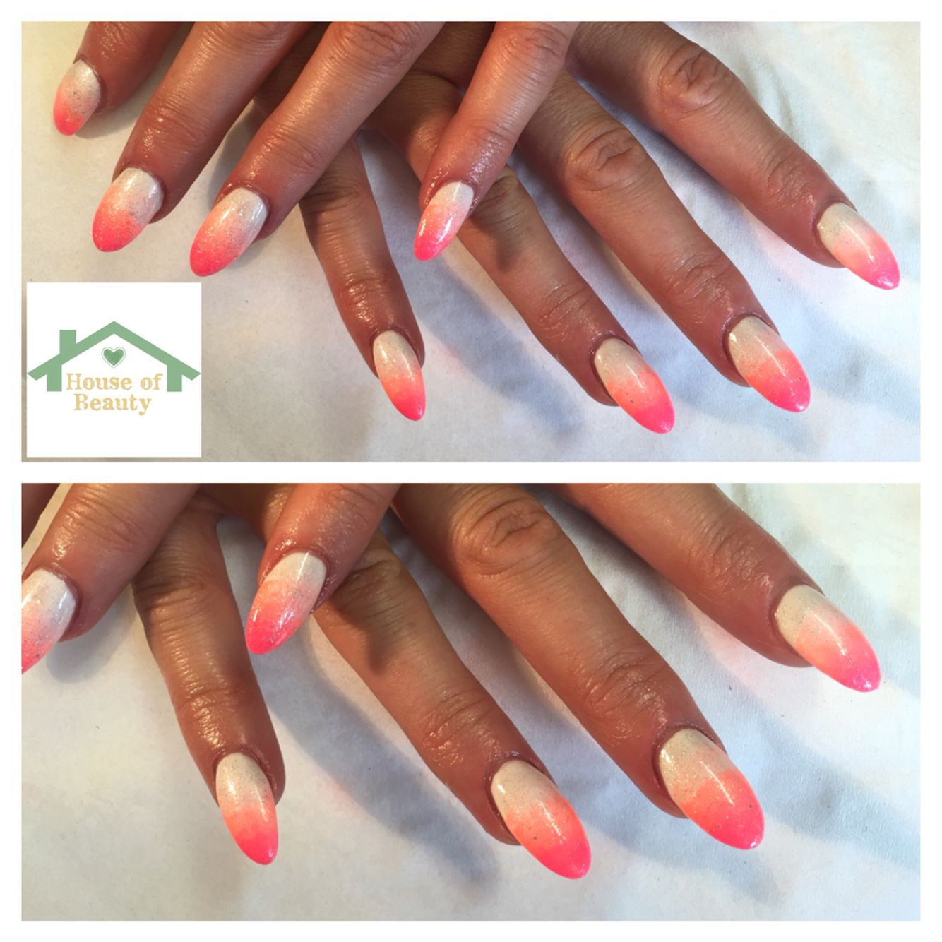 Inails express acrylic extensions with Gelish polish #gelish ...
