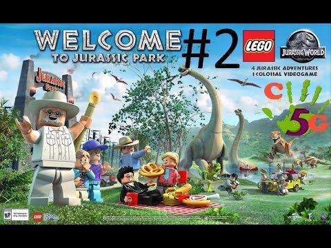 LEGO Jurassic World #2 Gameplay - Welcome To Jurassic Park #game ...