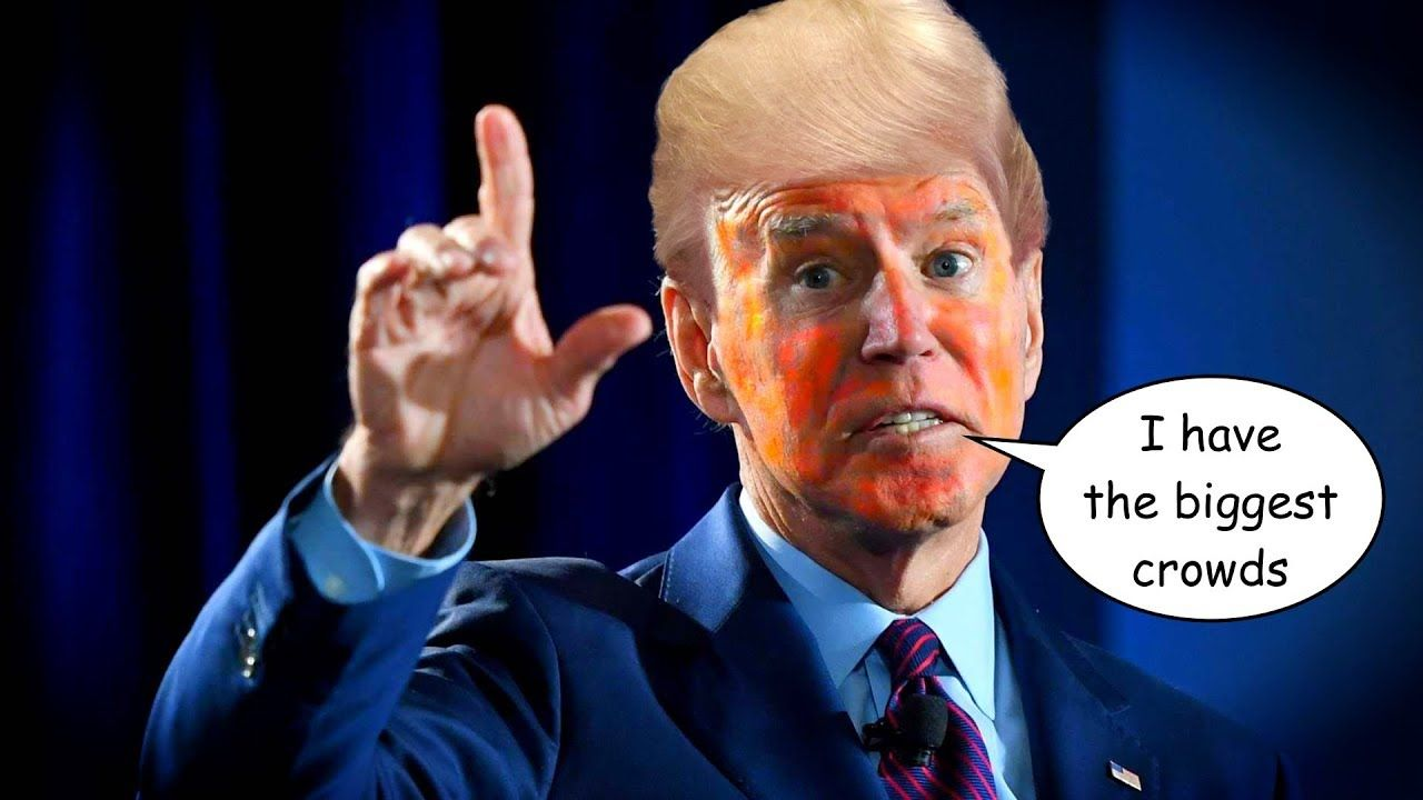 Joe Biden Embarrasses Himself With Trumpian Lie About Crowd Sizes