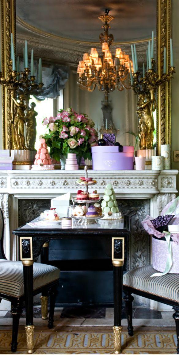 Pin di p o s h su p o s h tea party home d cor paris apartments e christmas in europe - Decorazione archi in casa ...
