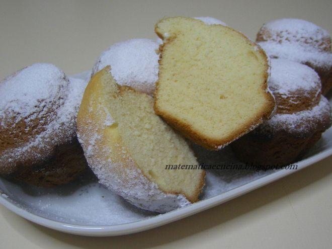 Ricetta Dessert : Tortine di pasta margherita da Matematicaecucina