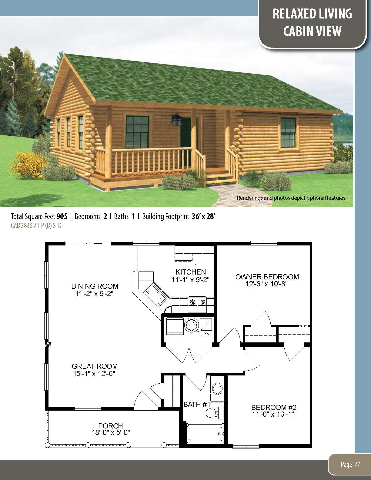 The Cabin View Visit Our Website To Learn More About Our Custom Homes Or To Download A Free Copy Of Any Building A House Cabin House Plans Best House Plans