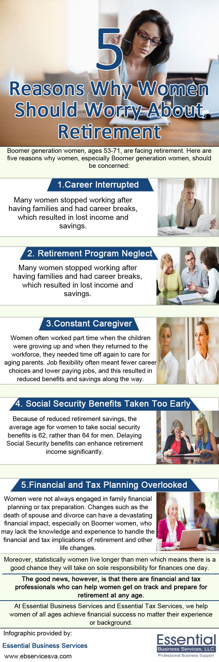 Retirement Program Neglect Families Often Used WomenS Income For