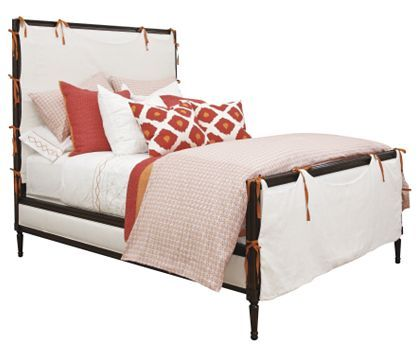 A High End Diy Project Part Two Hickory Chair Headboards For Beds Furniture Slipcovers