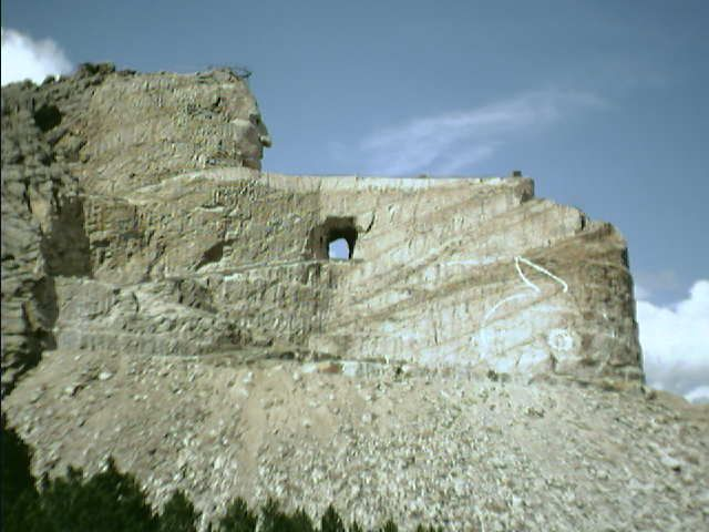 CRAZY HORSE MONUMENT CUSTER AREA WEBCAM and areas across