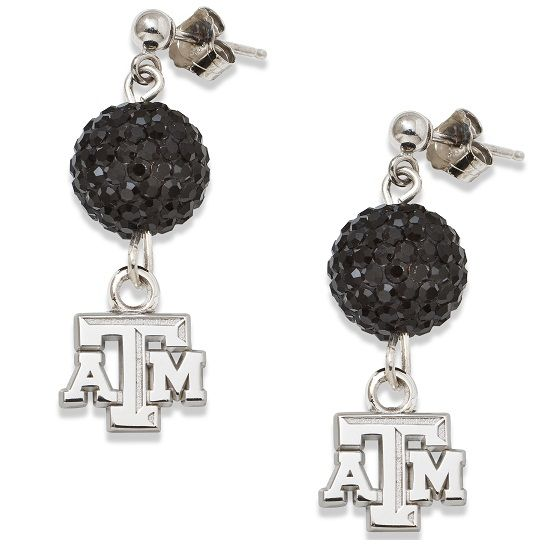 Texas A Ovation Sterling Silver Post Earrings