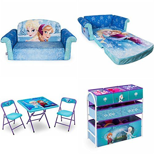 Disney Frozen Marshmallow Furniture 2in1 Flip Open Sofa With Disney