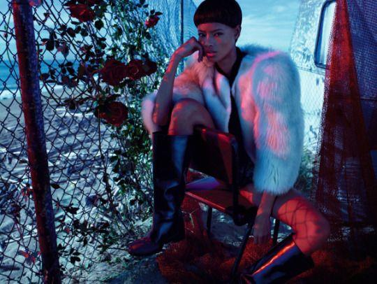 Malaika Firth x Numéro, December 2014