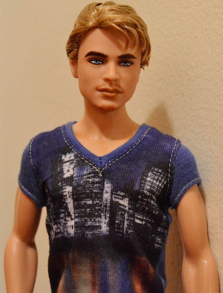 Luke- Barbie Basics Ken Repaint | Dolls \