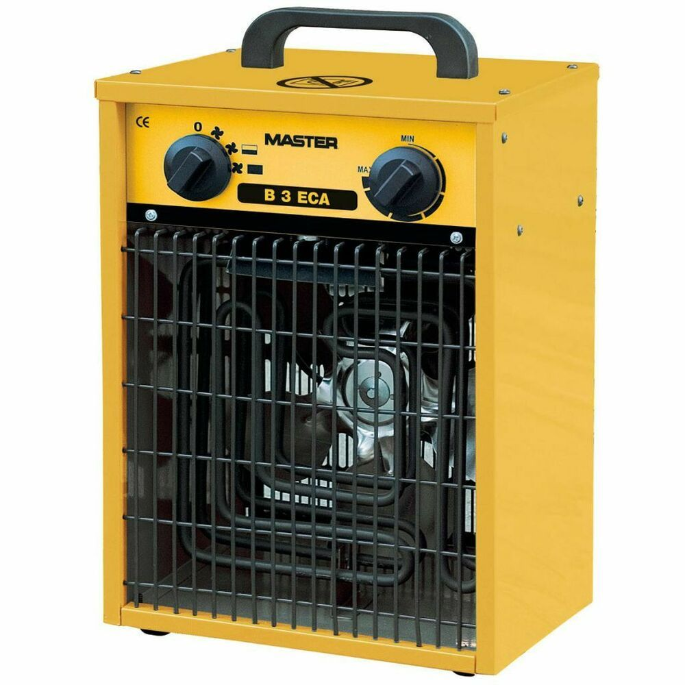 Master Radiateur Soufflant Electrique B3eca 288 M H Generateur D Air Chaud Radiateur Soufflant Chauffage D Appoint Chauffage Soufflant