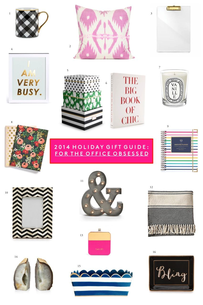 Exceptional A Few Of My Favorite Gifts For The Girls That Are Obsessed With Their Office  Space