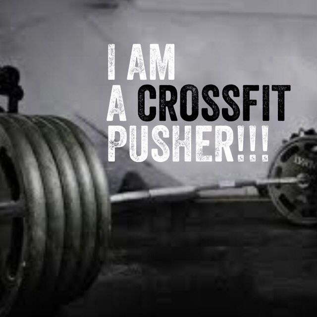 I am not ashamed to admit it either!!! Crossfit