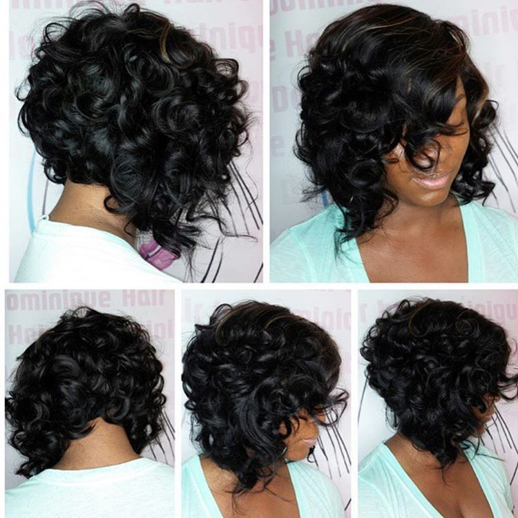 Pictures Of Short Haircuts For Black Women Hair Pinterest