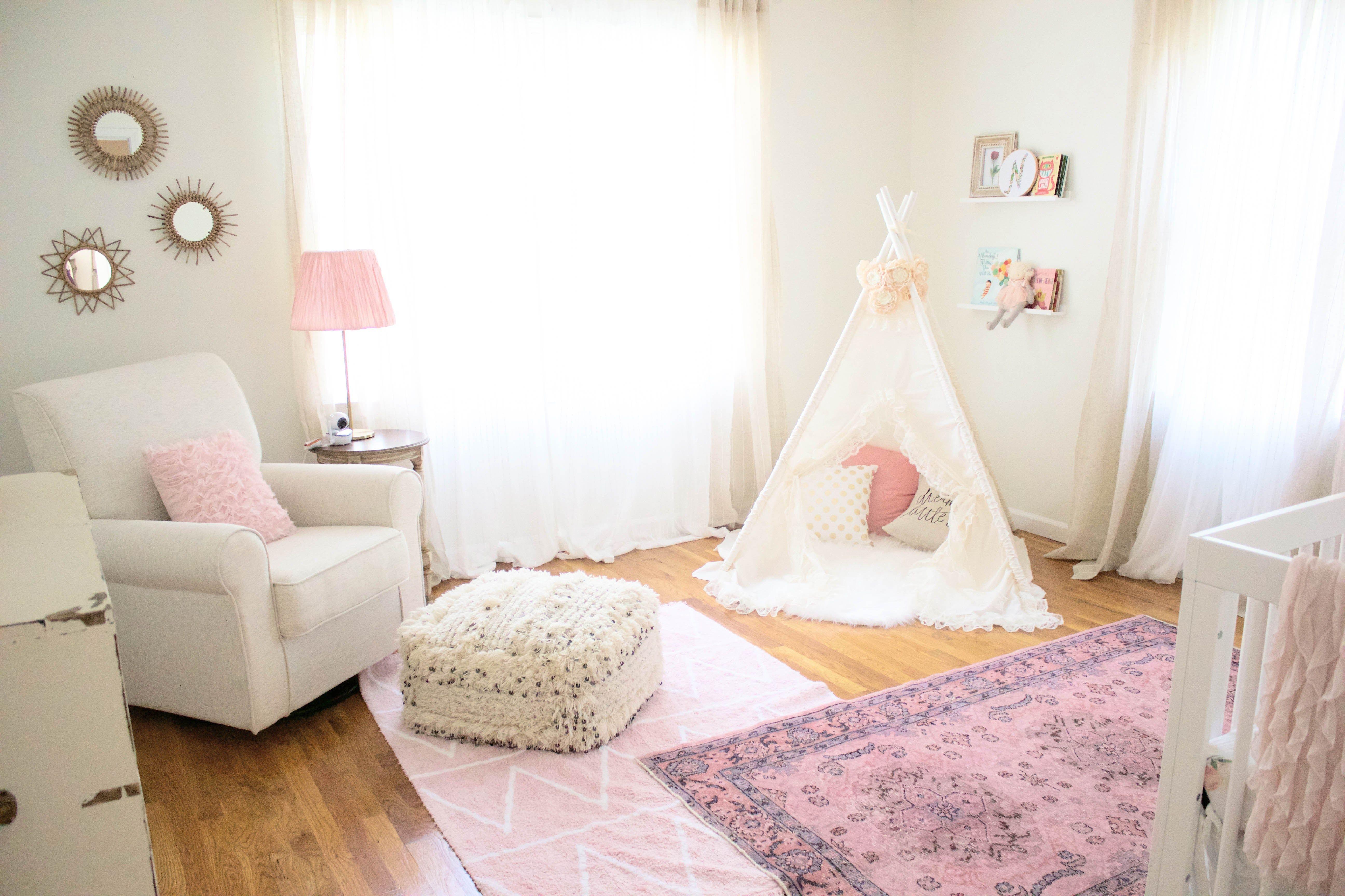 Home // Bohemian Girl's Nursery Baby room themes, Girl
