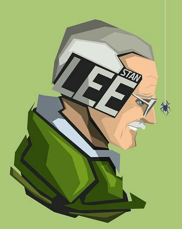Stan Lee. #wallpaper #stanlee #marvel #hero #heros