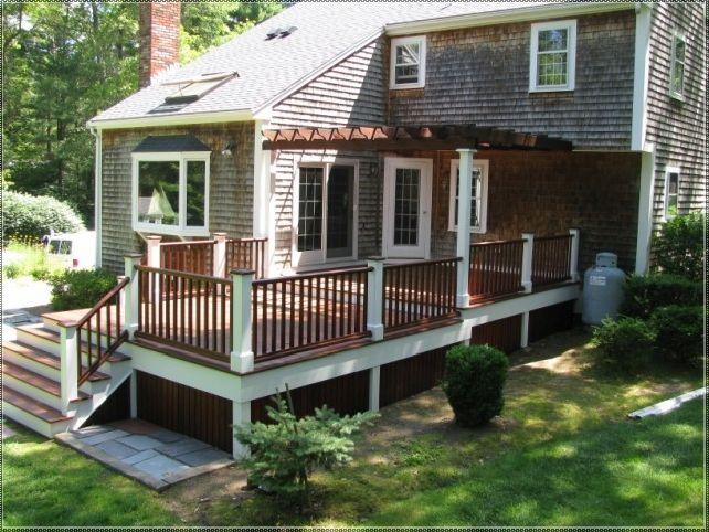patio deck color ideas | garden ideas | pinterest | deck colors ... - Deck Patio Ideas