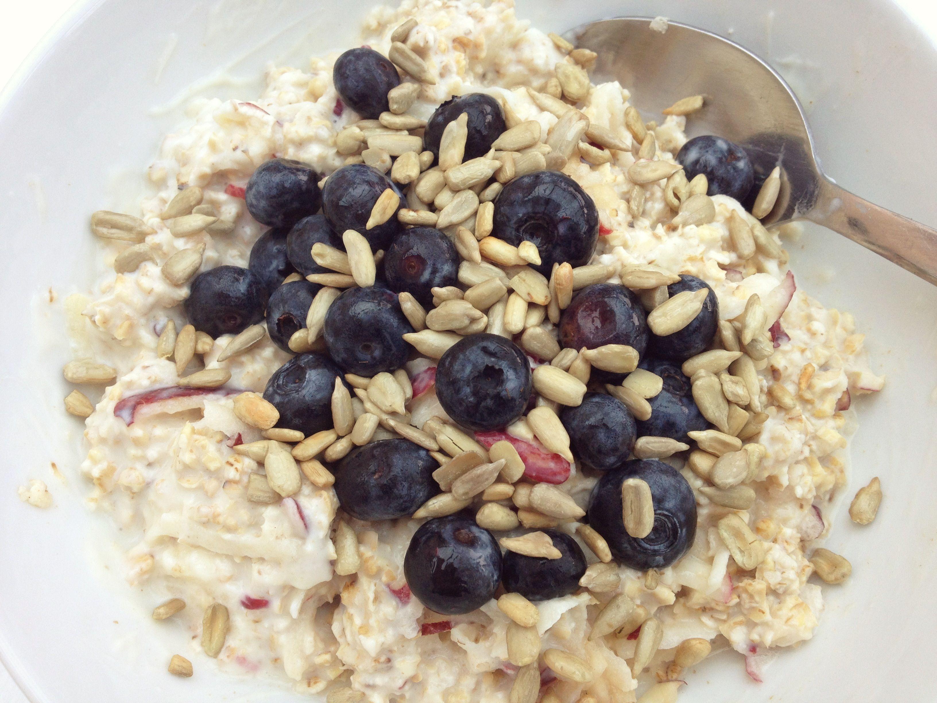 Bircher Muesli #dairyfree #wheatfree #vegan #nutritious ...