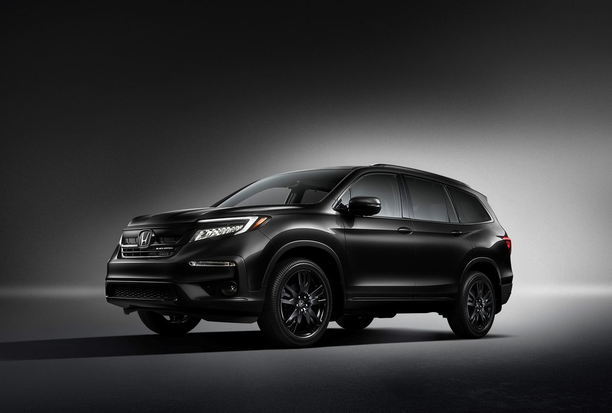 2020 Honda Pilot Launches with New Black