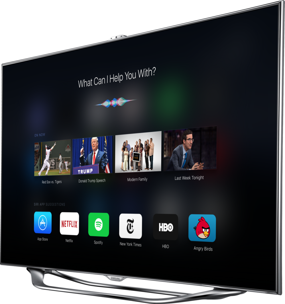Concept Apple TV, now with iOS 9 Apple tv, Apple tv